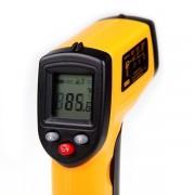infravörös, digitális hőmérő, infra 330C-ig mér GM320