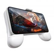 RK spel 7de Power Bank ABS staan Gamepad Game Controller voor 2.4-3 5 inch Android & iOS Phone(White)