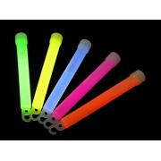 25 Medium 6-Inch Glow Sticks for Parties and Kids Birthdays - Light Up The Night With Non-Toxic Materials and Kid-Safe Designs - Perfect As Easter Basket Fillers, Party Favors, and Halloween Toys