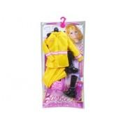 Habit Barbie - Poupée Et Mini-Poupée - Tenue De Pompier - Mattel