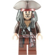 Lego Pirates Of The Caribbean: Captain Jack Sparrow With Tricorne Minifigure