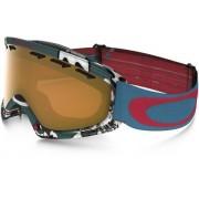 Oakley O2 XS Shady Trees Blue Red/Persimmon Skidglasögon