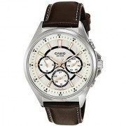 Casio Enticer Analog White Dial Mens Watch - MTP-E303L-7AVDF ( A962)