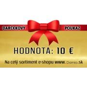 Darčeková poukážka - 100 €