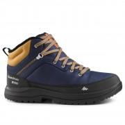 Quechua Chaussures de randonnée neige homme SH100 warm mid bleues. - Quechua