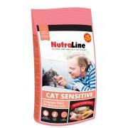 Hrana uscata pentru pisici Nutraline Cat Sensitive, 1.5 Kg