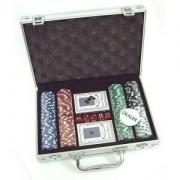 Набор для покера в кейсе на 200 фишек