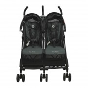 Carriola De Bebe Doble Fisher Price Liam Reclinable Compacta