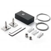 Accesoriu, Kit suspensie Lustre LED FLUO negru, 200cm