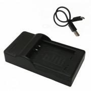 cargador de bateria de la camara movil 11L micro USB para Canon - negro