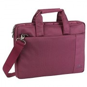 Rivacase 13.3 inch Laptop Bag w/Padded Compartment for Ultrabooks Macbook Air/Pro - Violet