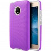 Funda Case Para Motorola Moto G5 (No Plus) Protector Ezpress - Morado