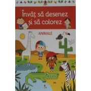 DeAgostini Invat sa desenez si sa colorez Animale