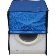 Glassiano Blue Colored Washing Machine Cover for Hitachi Front load all models
