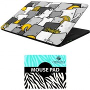 FineArts Combo of Cartoons - LS5469 Laptop Skin and Mouse Pad