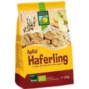 Haferling - Biscuiti Bio crocanti din ovaz cu mere 125g Bohlsener Muhle