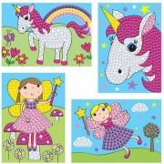 Set creativ Zane si unicorni Galt