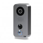 Post videointerfon IP DoorBird D101S de exterior standalone, WiFi, IP65, PIR pana la 8m, audio bidirectional