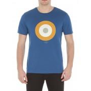 Ben Sherman Main Line Target T-Shirt XS M79 Canal Blue