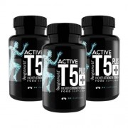 WeightWorld Active T5 - Sterke vetverbrander met hoge kracht gemaakt van natuurlijke ingrediënten - 3 pack