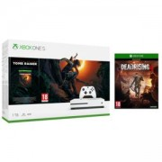 Конзола Microsoft Xbox One S 1TB Game Console +Shadow of the Tomb Raider + Dead Rising 4