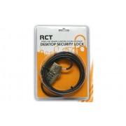 RCT NL-N02N 4 DIGIT NOTEBOOK SECURITY LOCK KENSINGTON T-BAR NANO COMPATIABLE -1.8M