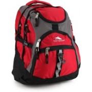 High Sierra Access Laptop Backpack(Grey, Black, Pink)