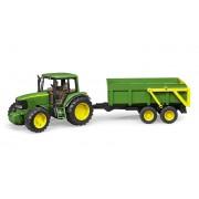 Bruder Traktor John Deere 6920 med tippsläp 2058