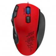 Мишка Speedlink Scelus, оптична 3200 dpi, USB, геймърска, подсветка, червена