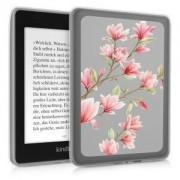 kwmobile Průhledné pouzdro pro Amazon Kindle Paperwhite 4 (2018) - růžová