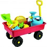 Cărucior pentru copii cu jucării de nisip