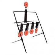 ELECTROPRIME® 5 Targets Self Resetting Spinning Shooting Targets Metal Target Stand Set