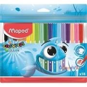 """Filctoll készlet 18db-os MAPED """"Color Peps Ocean"""""""