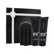 Mont Blanc Emblem 100Ml Edt 100 Ml + Aftershave Balm 100 Ml + Shower Gel 100 Ml + Edt Emblem Intense 1,2 Ml Per Uomo(Eau De Toilette)