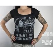 tricou stil metal femei Malignant Tumour - Melrose - NNM - 11385 black