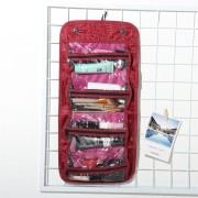 Women Rolls UP For Easy Travel Cosmetic Bag Storage Bag