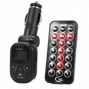 KELIMA Universal Car Transmisor FM / Reproductor de MP3 - Negro