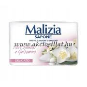 Malizia Delicato fehér virág és jázmin szappan 90g