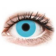 Blue Glow contact lenses - ColourVue Crazy