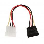 Valueline adapterkabel Molex naar SATA M/F