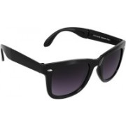 Fashionplaza Wayfarer, Rectangular Sunglasses(Black, Violet)