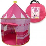 Creatov Princess Castle Girls Pink Play House Tent for Indoor/Outdoor