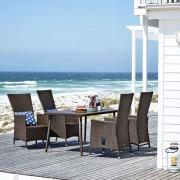 Baštenska garnitura Sandyx sa 4 stolice