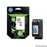 HP 23 Large Tri-color Inkjet Print Cartridge (C1823D)