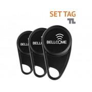 Bellcome SET.TAG.BLC.2S0 Video-deurintercom Transponder voor Zwart