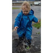 Muddy Buddy All in one Rainsuit Coverall Blue 18 mths / 11kg TUFFO