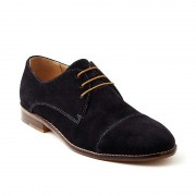 Croft Ari Shoes Midnight Suede FLP644