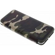 Groene Army Slim Folio Case voor de Samsung Galaxy S9