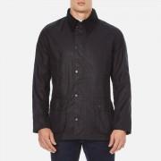 Barbour Men's Ashby Wax Jacket - Navy - S - Navy