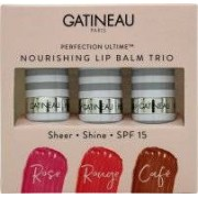 Gatineau Perfection Ultime Lip Balm Trio Gift Set 3 Pieces